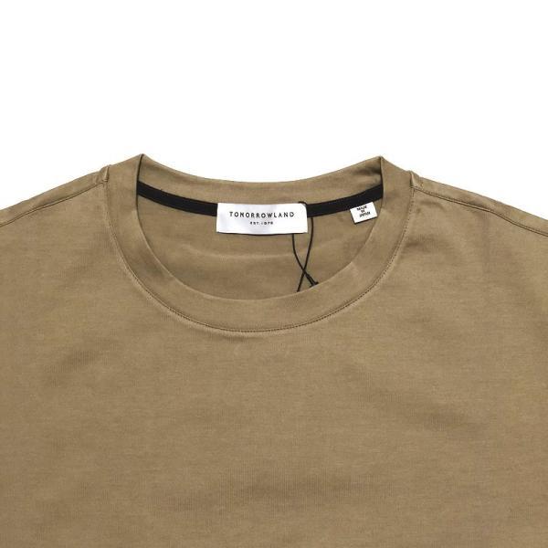 TOMORROWLAND トゥモローランド メンズ SUVIN COTTON クルーネックTシャツ|altasotto|03