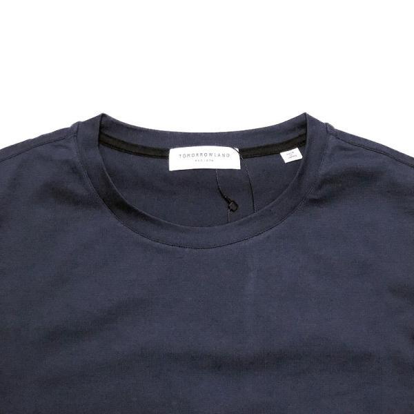 TOMORROWLAND トゥモローランド メンズ SUVIN COTTON クルーネックTシャツ|altasotto|04