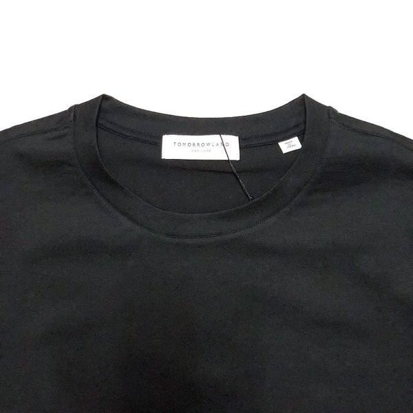 TOMORROWLAND トゥモローランド メンズ SUVIN COTTON クルーネックTシャツ|altasotto|05