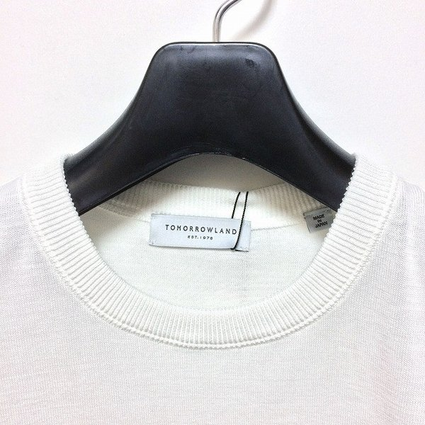 TOMORROWLAND トゥモローランド メンズ ロープストライプ ニットTシャツ altasotto 03
