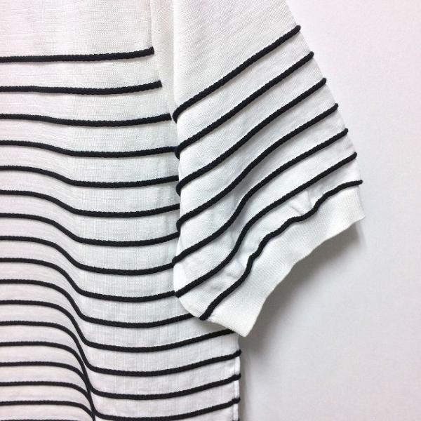 TOMORROWLAND トゥモローランド メンズ ロープストライプ ニットTシャツ altasotto 04