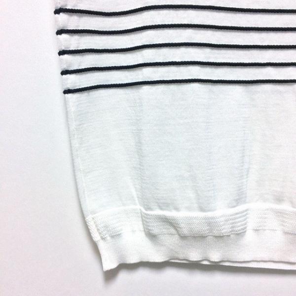 TOMORROWLAND トゥモローランド メンズ ロープストライプ ニットTシャツ altasotto 05