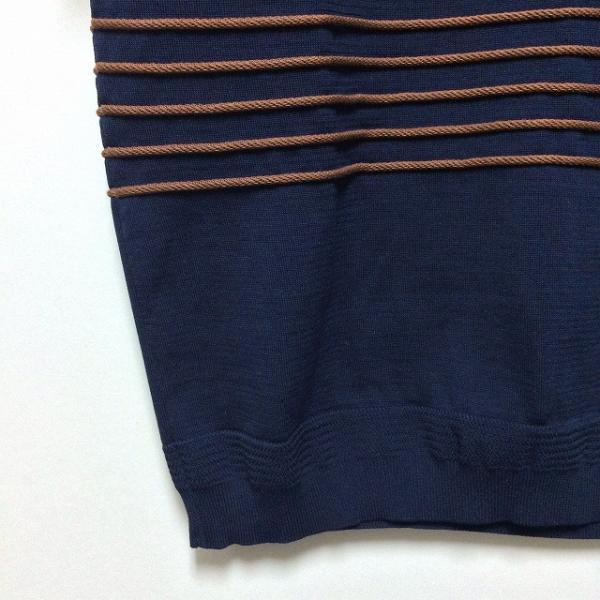 TOMORROWLAND トゥモローランド メンズ ロープストライプ ニットTシャツ altasotto 10