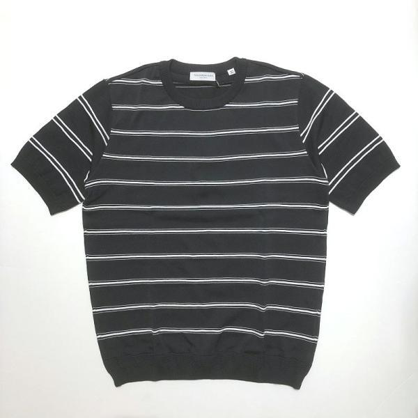 TOMORROWLAND トゥモローランド メンズ ロープストライプ ニットTシャツ|altasotto|13