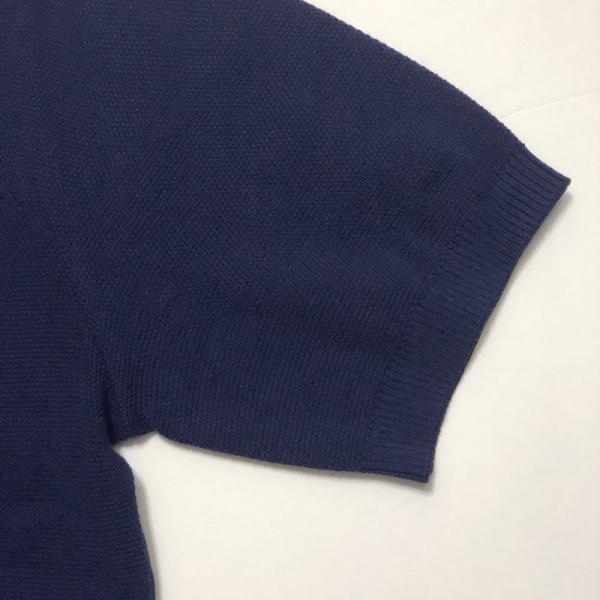 TOMORROWLAND トゥモローランド メンズ スキッパーカラー ニットポロシャツ|altasotto|09