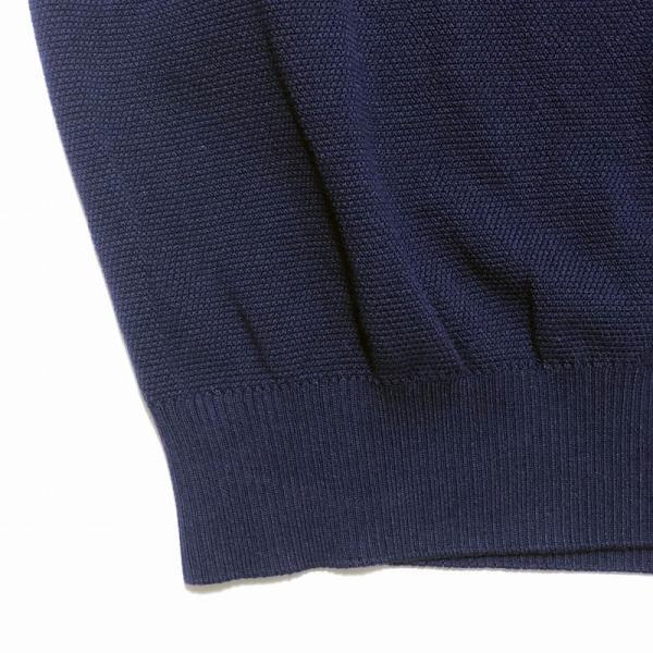TOMORROWLAND トゥモローランド メンズ スキッパーカラー ニットポロシャツ|altasotto|10