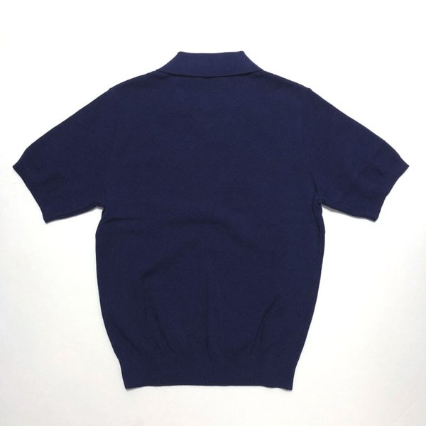 TOMORROWLAND トゥモローランド メンズ スキッパーカラー ニットポロシャツ|altasotto|11
