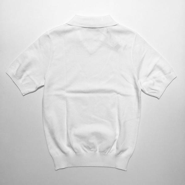 TOMORROWLAND トゥモローランド メンズ スキッパーカラー ニットポロシャツ|altasotto|04