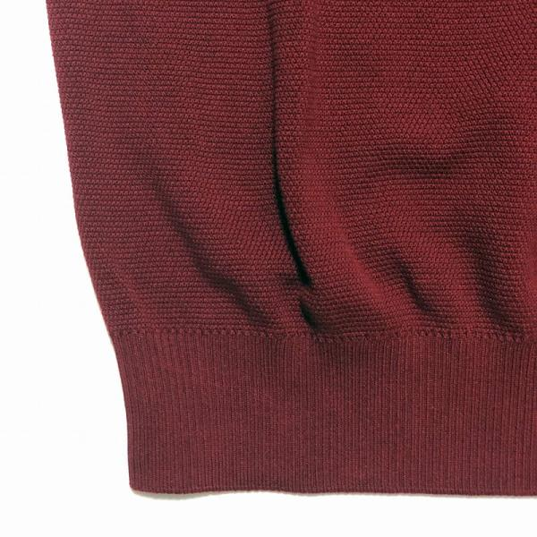 TOMORROWLAND トゥモローランド メンズ スキッパーカラー ニットポロシャツ|altasotto|07