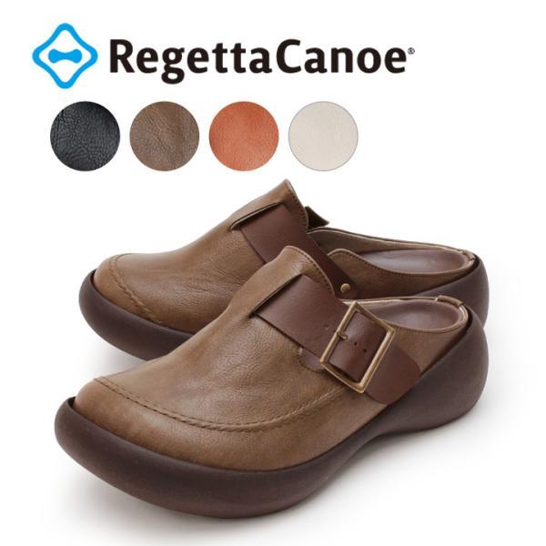 リゲッタカヌー RegettaCanoe CJCL-6000 クロッグシューズ カジュアルワンベルトサボ|altolibro