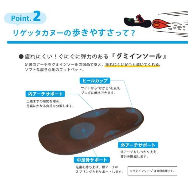 リゲッタカヌーx手塚コラボモデル!RCTZ-12  ヒョウタンツギ フラットカヌースニーカー/レディース