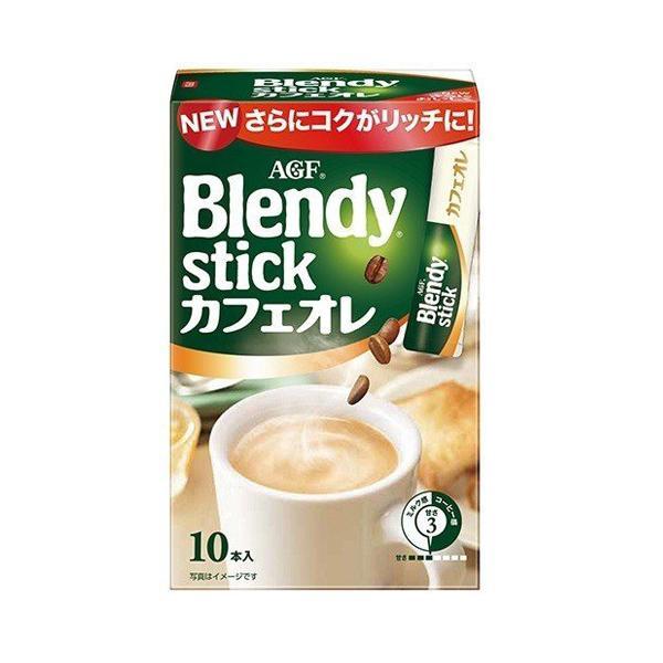 味の素AGF ブレンディ スティックカフェオレ 10本入×3個|alude|02