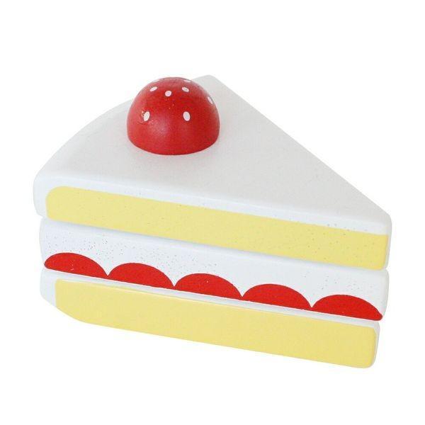 いちごのショートケーキ 女の子 2歳 3歳 4歳 5歳 ままごと ごっこ遊びおもちゃ ままごと道具 食材  Ed.Inter(エド・インター)