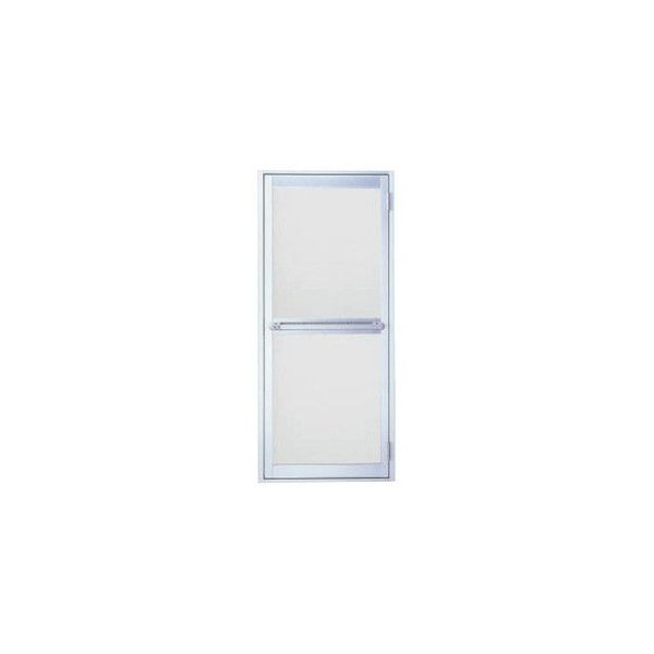 浴室ドア 枠付 タオル掛け付 樹脂パネル LIXIL ロンカラー浴室用 アルミサッシ