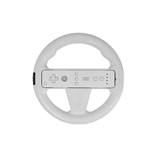 Wiiリモコン用 ハンドルアタッチメントD(ホワイト) アンサー(ANS-WU025WH)の画像