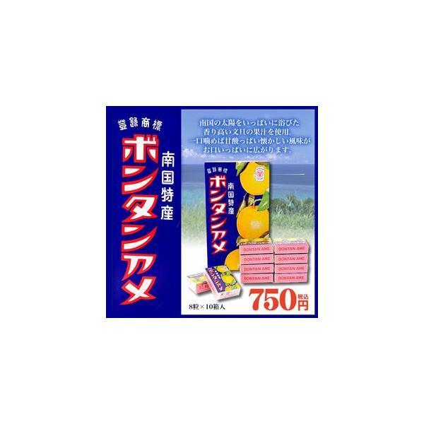ボンタンアメ 8粒×10個入り セイカ食品