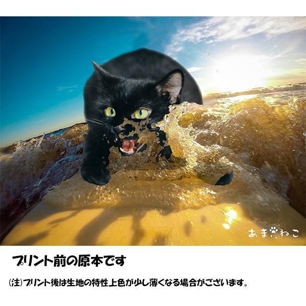 サーフボード 猫Tシャツ XS〜Lサイズ メンズ レディース 綿100% サーフィン 厚手 マリンスポーツ サーフィン ボディボード ホワイト|amaneko|11