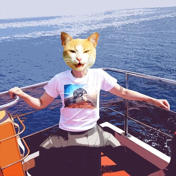 サーフボード 猫Tシャツ XS〜Lサイズ メンズ レディース 綿100% サーフィン 厚手 マリンスポーツ サーフィン ボディボード ホワイト|amaneko|06