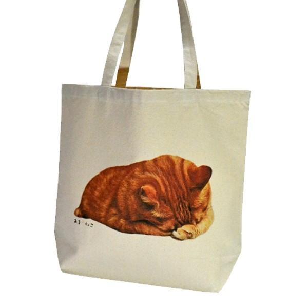 顔隠す猫トートバッグ 茶トラ トラ猫 Lサイズ 男女兼用 20リットル 大容量 ショッピングバッグ エコバッグ|amaneko|06