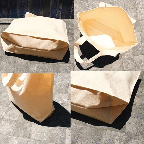 ボタン柄 猫トートバッグ 貼り絵風 Lサイズ 20リットル 大容量 厚手 ショッピングバッグ 綿100% ちぎり絵風 和柄 和紙|amaneko|16