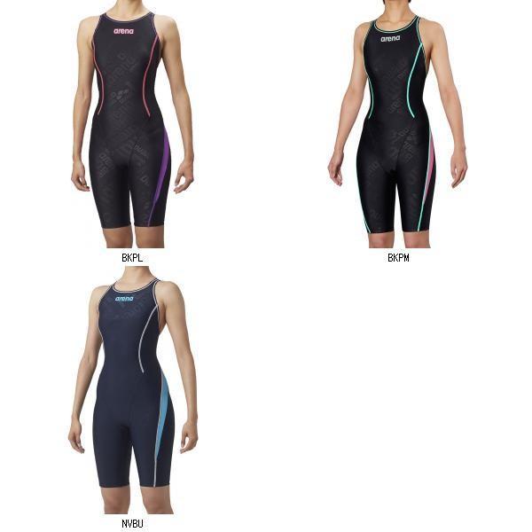 レディース 競泳 セイフリーバックスパッツ 着やストラップ 女性用 アリーナ 水着 SAR8135W arena はっ水