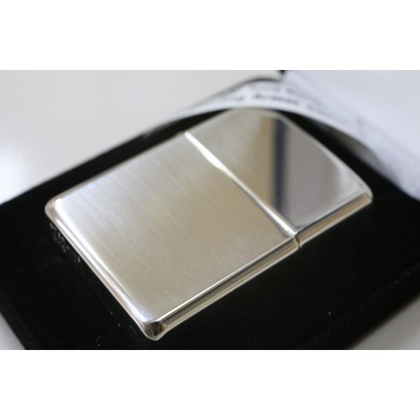 高級ZIPPO  純銀アーマージッポ 26SA 高級ジッポ 送料無料 シルバー925 人気モデル 重厚アーマー スターリングシルバー ライター かっこいい zippo