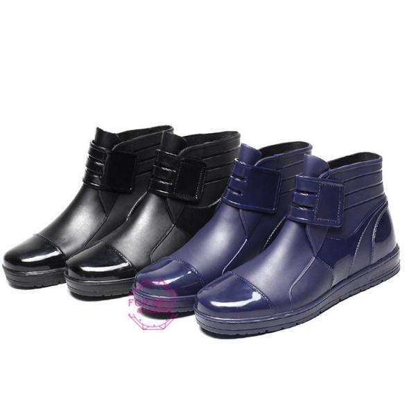 レインブーツメンズ 雨靴 レインシューズ ショートブーツ 防水 ブーツ 雨 雪 雨対策 おしゃれ 雨具 amazawa 12