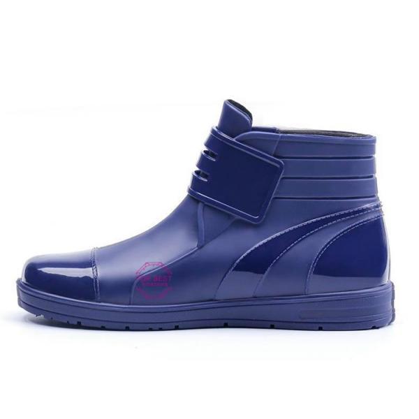 レインブーツメンズ 雨靴 レインシューズ ショートブーツ 防水 ブーツ 雨 雪 雨対策 おしゃれ 雨具 amazawa 14