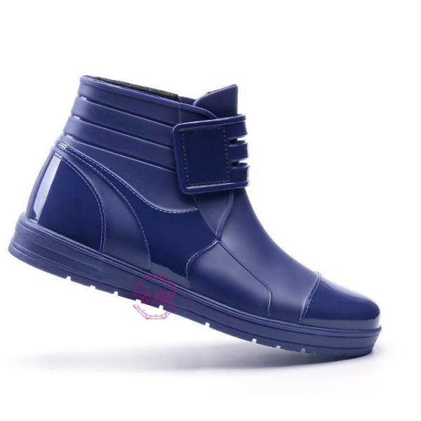 レインブーツメンズ 雨靴 レインシューズ ショートブーツ 防水 ブーツ 雨 雪 雨対策 おしゃれ 雨具 amazawa 15