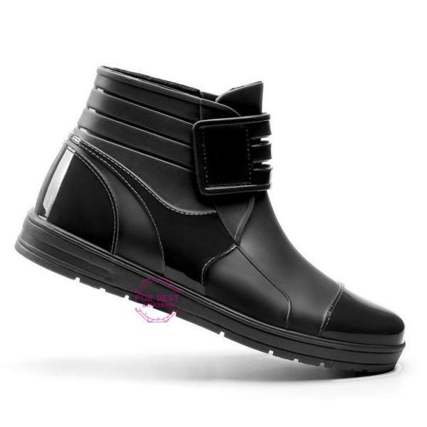 レインブーツメンズ 雨靴 レインシューズ ショートブーツ 防水 ブーツ 雨 雪 雨対策 おしゃれ 雨具 amazawa 19