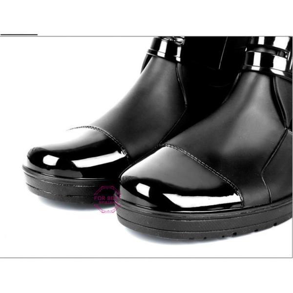 レインブーツメンズ 雨靴 レインシューズ ショートブーツ 防水 ブーツ 雨 雪 雨対策 おしゃれ 雨具 amazawa 20