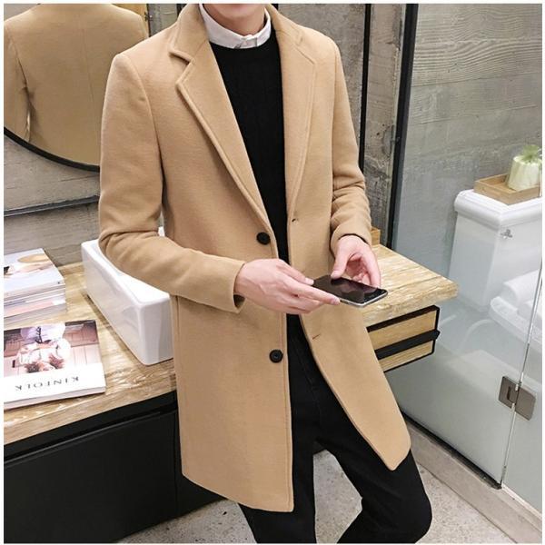 チェスターコート メンズ アウター コート ビジネスコート  紳士服 スリム 通勤 卒業式 防寒 2018 新春|amazawa|15
