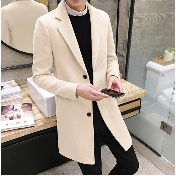チェスターコート メンズ アウター コート ビジネスコート  紳士服 スリム 通勤 卒業式 防寒 2018 新春|amazawa|17