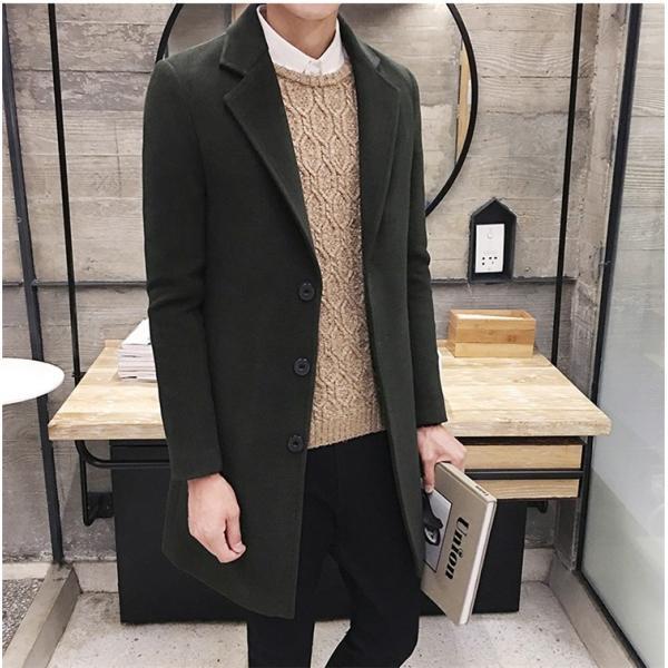 チェスターコート メンズ アウター コート ビジネスコート  紳士服 スリム 通勤 卒業式 防寒 2018 新春|amazawa|19