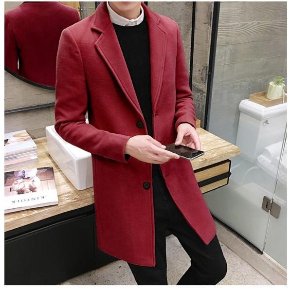 チェスターコート メンズ アウター コート ビジネスコート  紳士服 スリム 通勤 卒業式 防寒 2018 新春|amazawa|20