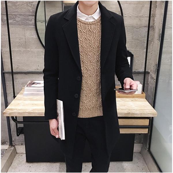 チェスターコート メンズ アウター コート ビジネスコート  紳士服 スリム 通勤 卒業式 防寒 2018 新春|amazawa|05