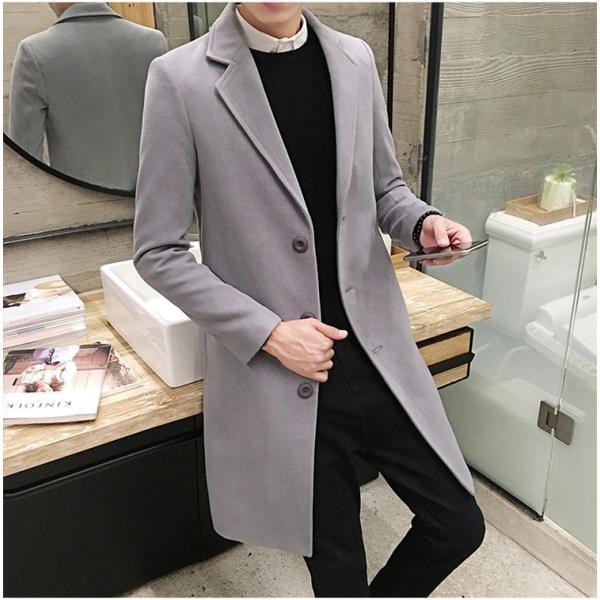 チェスターコート メンズ アウター コート ビジネスコート  紳士服 スリム 通勤 卒業式 防寒 2018 新春|amazawa|09