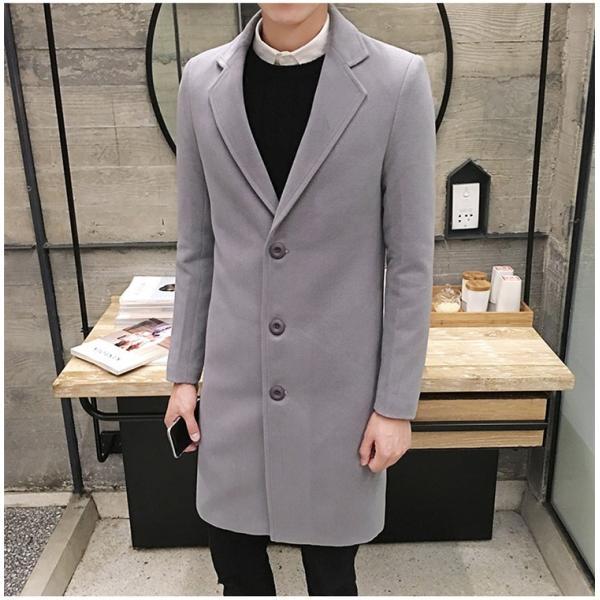 チェスターコート メンズ アウター コート ビジネスコート  紳士服 スリム 通勤 卒業式 防寒 2018 新春|amazawa|10