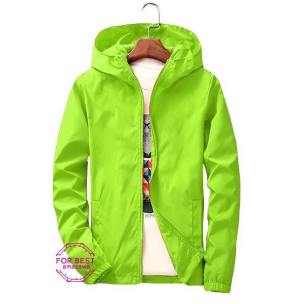 ウィンドブレーカー メンズ ジップアップパーカー ジャケット UVカット 大きいサイズ おしゃれ ブルゾン 撥水 防風 新春 セール amazawa 18