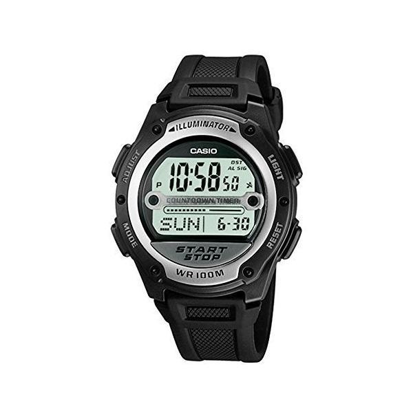 [CASIO] 腕時計 スタンダード デジタル液晶 サッカー 審判 試合時間計測用 海外モデル W-756-1A ユニセックス|ambitionz-shop