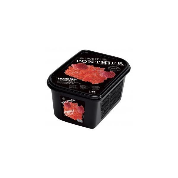 ポンティエ フランボワーズ(木いちご) 冷凍ピューレ 加糖 1kg