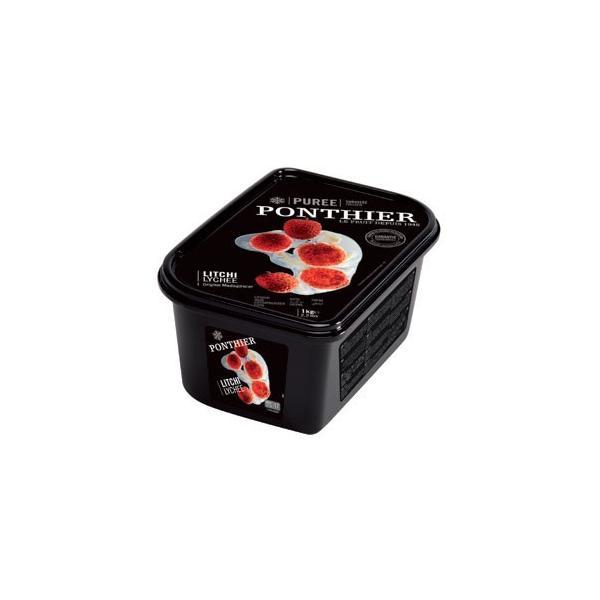 ポンティエ ライチピューレ 無糖 1kg 冷凍