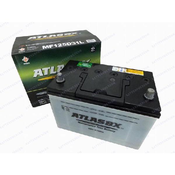 アトラス 車 バッテリー 125D31L ATLAS 自動車用バッテリ- 2年保証 送料無料 amcom 02