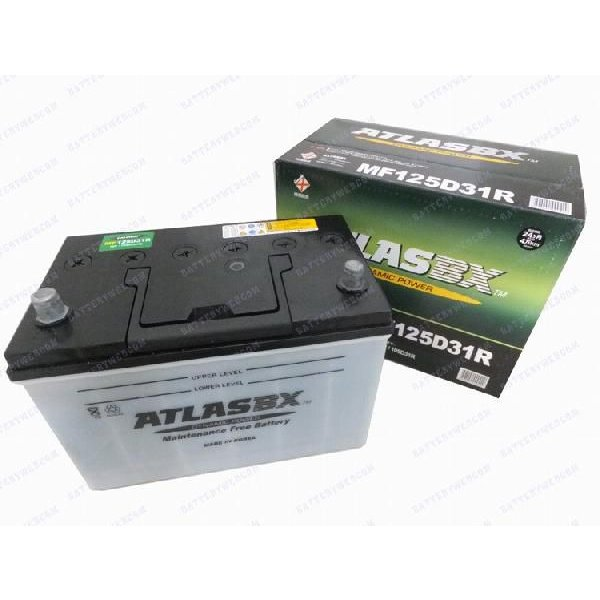 アトラス 車 バッテリー 125D31R ATLAS 自動車用バッテリ- 2年保証|amcom|02