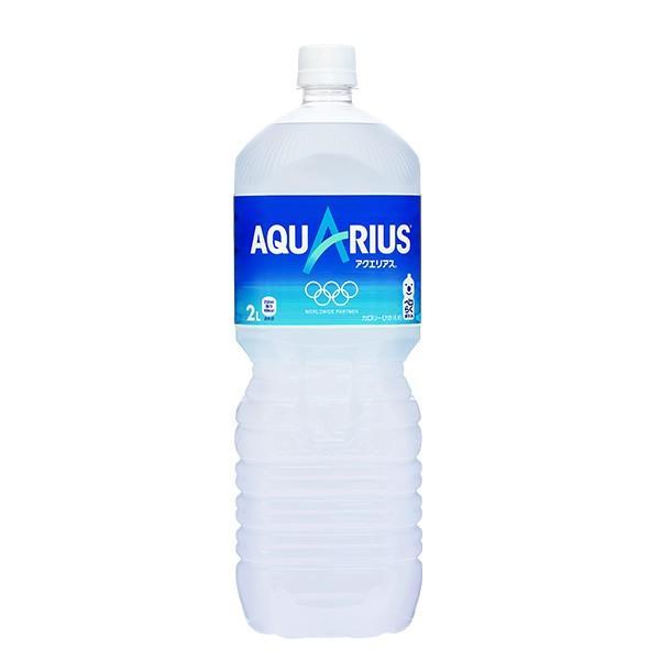 アクエリアス ペコらくボトル 2L 6本入 1ケース 2.0L AQUARUIS Vitamin スポーツ水 1箱 アクエリヤス 熱中症対策|amcom