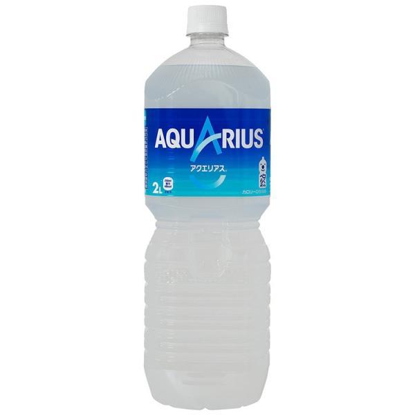 アクエリアス ペコらくボトル 2L 6本入 1ケース 2.0L AQUARUIS Vitamin スポーツ水 1箱 アクエリヤス 熱中症対策|amcom|02