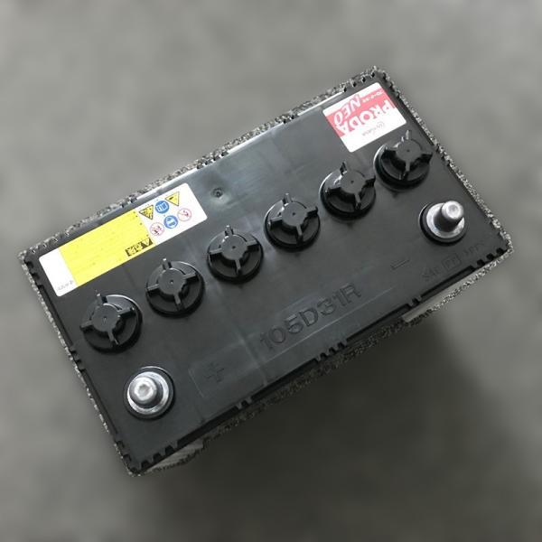 GSユアサ バッテリー 115D31R 純正品 大型車 バッテリー GSYUASA ジーエス・ユアサ PRODA NEO 【旧品番 PRN-105D31R】 95D31R 互換|amcom|06