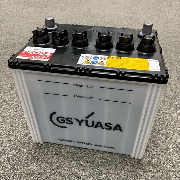 GSユアサバッテリー 75D23L YUASA PRODA NEO PRN-75D23L トラック  大型車用 2年保証 ジーエスユアサ プローダ ネオ 55D23L 65D23L 互換|amcom|02