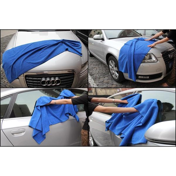洗車タオル 業務用 マイクロファイバー バスタオル 160cm×60cm 超極細繊維で吸水性抜群!切って使ってもお得です! 車 大判|amcom|04