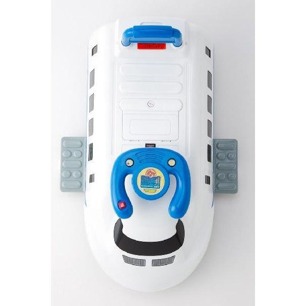新幹線 700系 電動カー 子供 用 電動 乗用 発車音付 玩具 おもちゃ 乗り物 プレゼント 入園祝い|amcom|04
